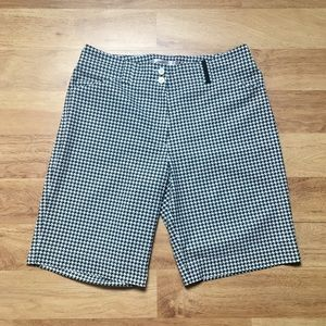 Nike Golf Fit Dry Houndstooth Print Shorts